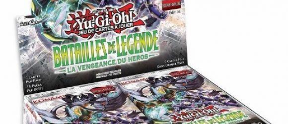 Toutes les cartes de Batailles de Légende : La Vengeance du Héros